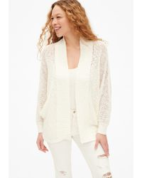 Gap - Open-stitch Cocoon Cardigan Sweater - Lyst
