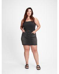 Gap Denim Mini Skirt With Washwelltm - Black