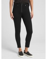 1bfffe15da Gap - High Rise True Skinny Ankle Jeans With Secret Smoothing Pockets - Lyst