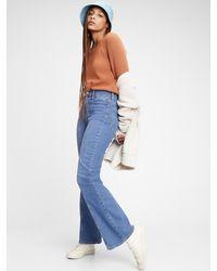 Gap High Rise Vintage Flare Jeans - Blue