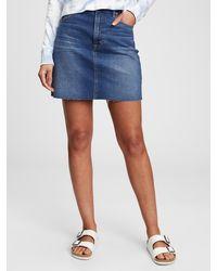 Gap Denim Mini Skirt - Blue