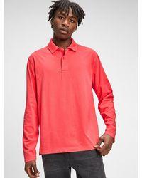 Gap Vintage Soft Polo Shirt Shirt - Red