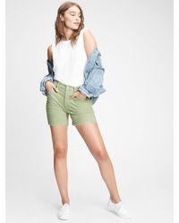 Gap Vintage Corduroy Shorts - Green