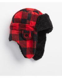 GAP Factory - Plaid Faux-fur Trapper Hat - Lyst 169640d1490f