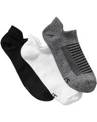 GAP Factory Gapfit Ankle Socks (3-pack) - Black