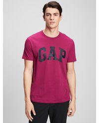 GAP Factory Gap Logo T-shirt - Red