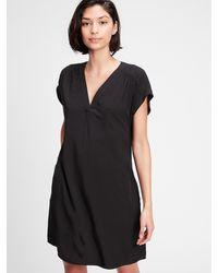 GAP Factory V-neck Dress - Black