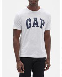GAP Factory Gap Logo T-shirt In Slub - White