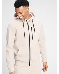 GAP Factory Gapfit Performance Hoodie - Natural