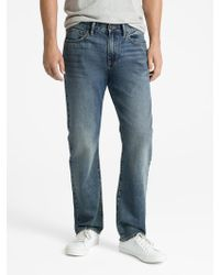 GAP Factory - Straight Fit Jeans - Lyst