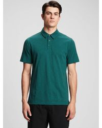GAP Factory Lived-in Polo Shirt Shirt - Green