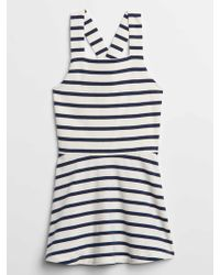 GAP Factory - Print Tank Fit And Flare Dress - Lyst