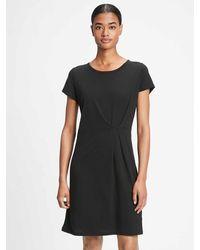 GAP Factory Pleated Dress - Black