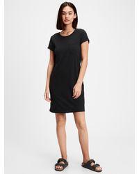 GAP Factory Pocket T-shirt Dress - Black
