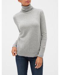 GAP Factory Turtleneck Sweater - Gray