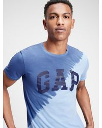 GAP Factory Gap Logo T-shirt - Blue