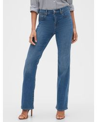 GAP Factory Mid Rise Bootcut Jeans - Blue
