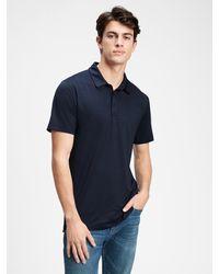 GAP Factory Gapfit Performance Polo Shirt - Blue