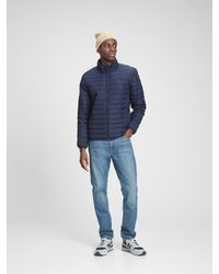 GAP Factory Coldcontrol Puffer Jacket - Blue