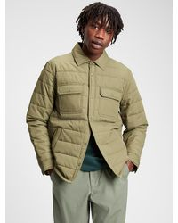 GAP Factory Quilted Jacket - Green
