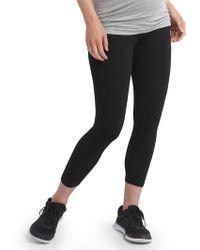 c69819f9e9 GAP Factory Gapfit Gfast Spliced Yoga Leggings in Gray - Lyst