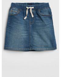 GAP Factory - Denim Skirt With Fantastiflex - Lyst