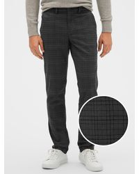 GAP Factory Twill Pants In Slim Fit With Gapflex - Gray