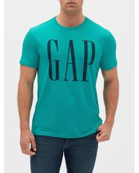 GAP Factory Gap Logo Short Sleeve T-shirt - Green