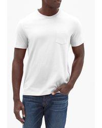 GAP Factory Everyday Crewneck Pocket T-shirt - White