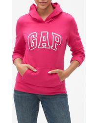 GAP Factory Gap Logo Hoodie - Pink
