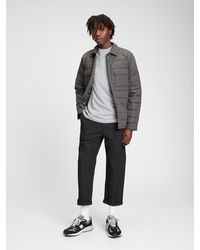 GAP Factory Quilted Jacket - Black