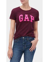 GAP Factory Gap Logo T-shirt - Purple