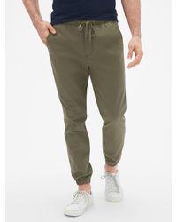 GAP Factory Twill Sweatpants - Green