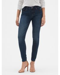 GAP Factory - Mid Rise Jeggings - Lyst