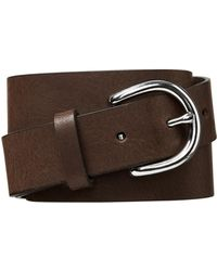 GAP Factory Classic Leather Belt - Brown