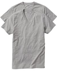 GAP Factory - Factory V-neck Tees (2-pack) - Lyst