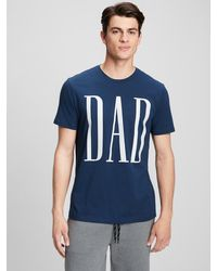 GAP Factory Graphic T-shirt - Blue