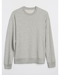 GAP Factory - Crewneck Sweater In French Terry - Lyst