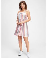 GAP Factory Squareneck Cami Dress - Pink