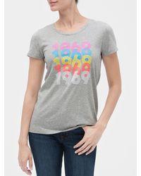 GAP Factory - Graphic Short Sleeve T-shirt - Lyst
