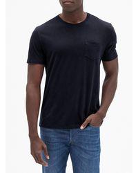 GAP Factory Everyday Crewneck Pocket T-shirt - Black