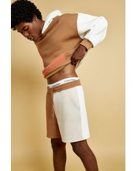 Garage Unisex Colorblock Shorts - Multicolor