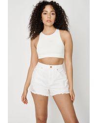 Garage Festival Shorts - White