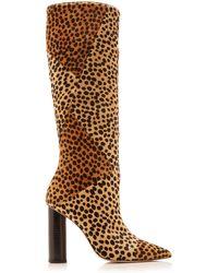 Ulla Johnson Jerri Calf Hair Boot - Brown