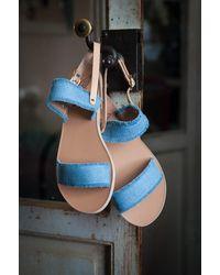 Ancient Greek Sandals Clio Sandals - Blue
