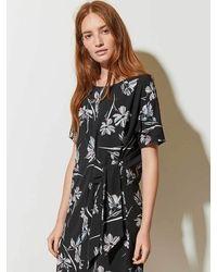 Great Plains Camilla Tie Dress - Black
