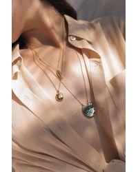 Pamela Love Large Scarab Pendant - Metallic