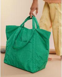 BAGGU Travel Cloud Bag - Green