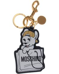 Moschino | Cny Edition Pudgy Keyring White | Lyst