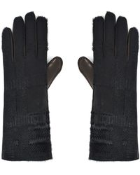 Vivienne Westwood Nappa Gloves 6696 Pony Hair - Multicolor